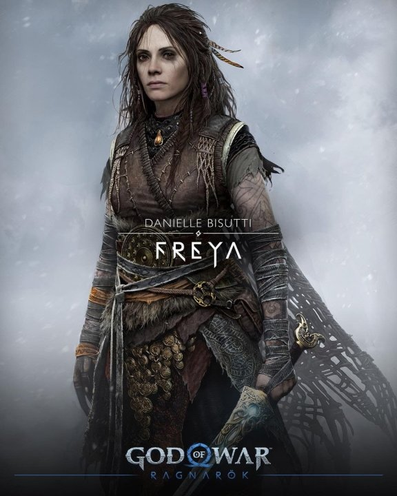 God of war cast characters freya voice actor