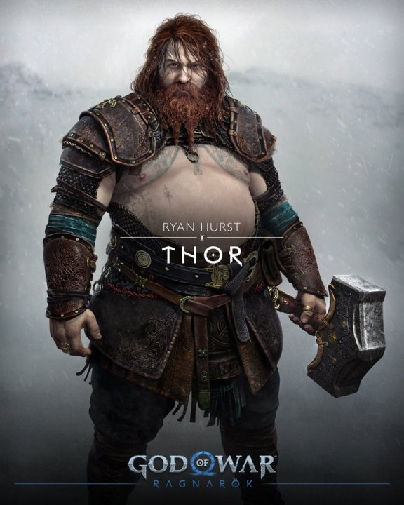 God of war cast characters thor voice actor