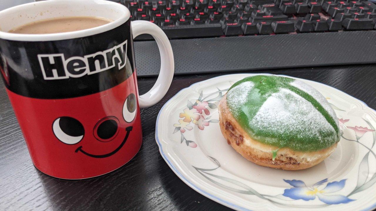 Xbox doughnut krispy kreme review