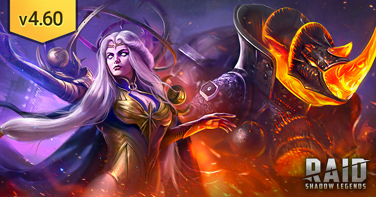 Raid Shadow Legends : Update 4.60 Patch Notes (04.08.2021)