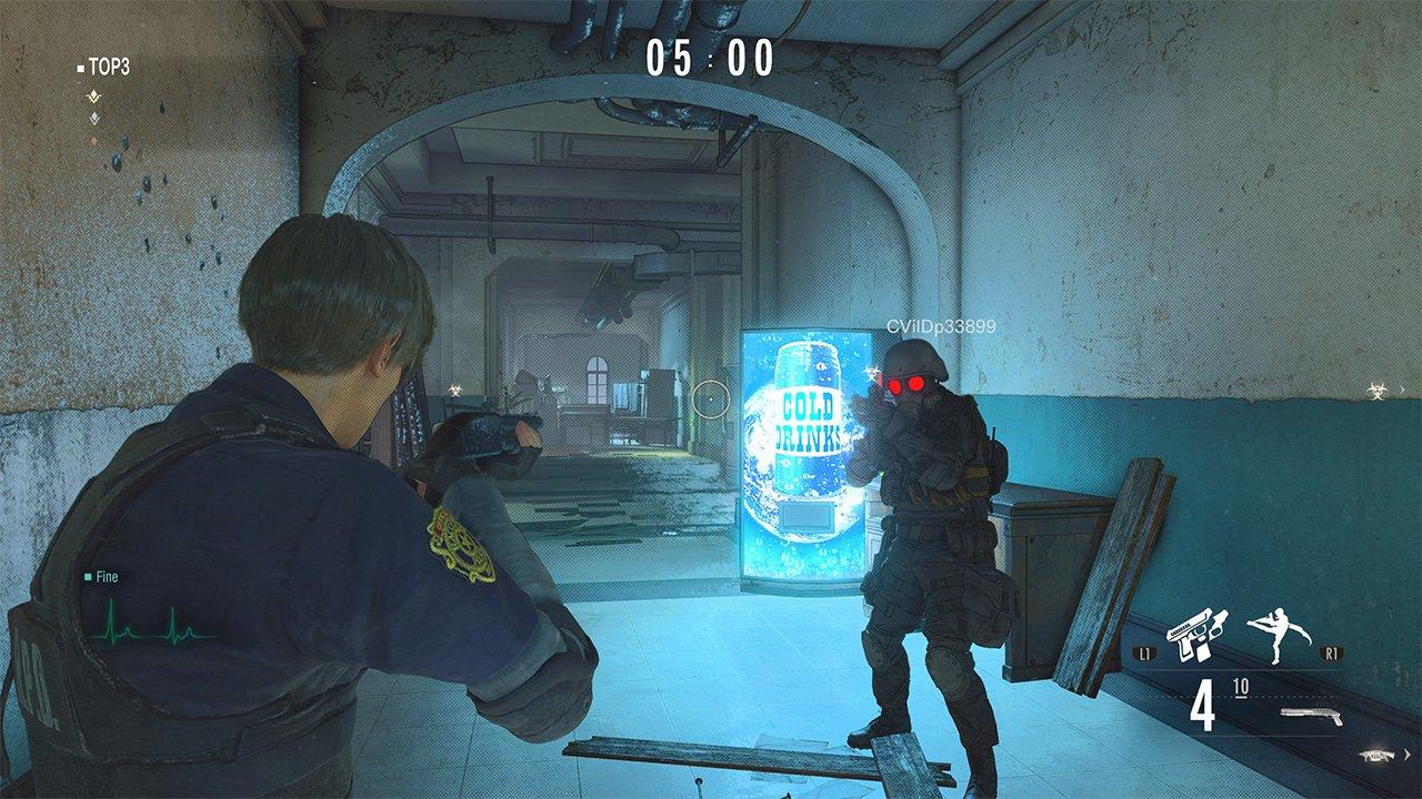 Resident Evil Re:Verse multiplayer mode village
