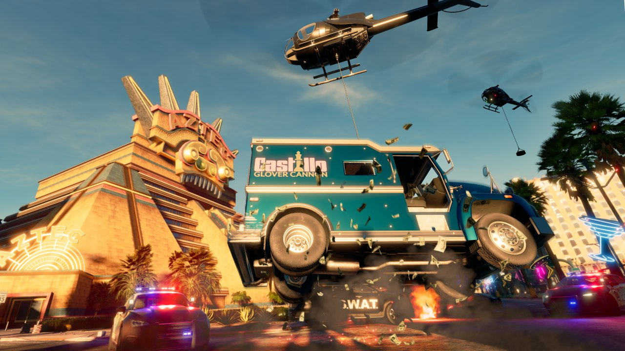 Saints Row Reboot coop gameplay helicopters