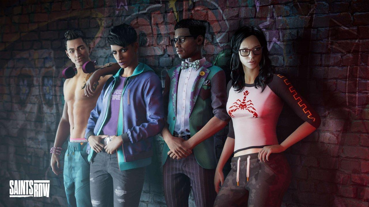 Saints Row reboot setting characters map