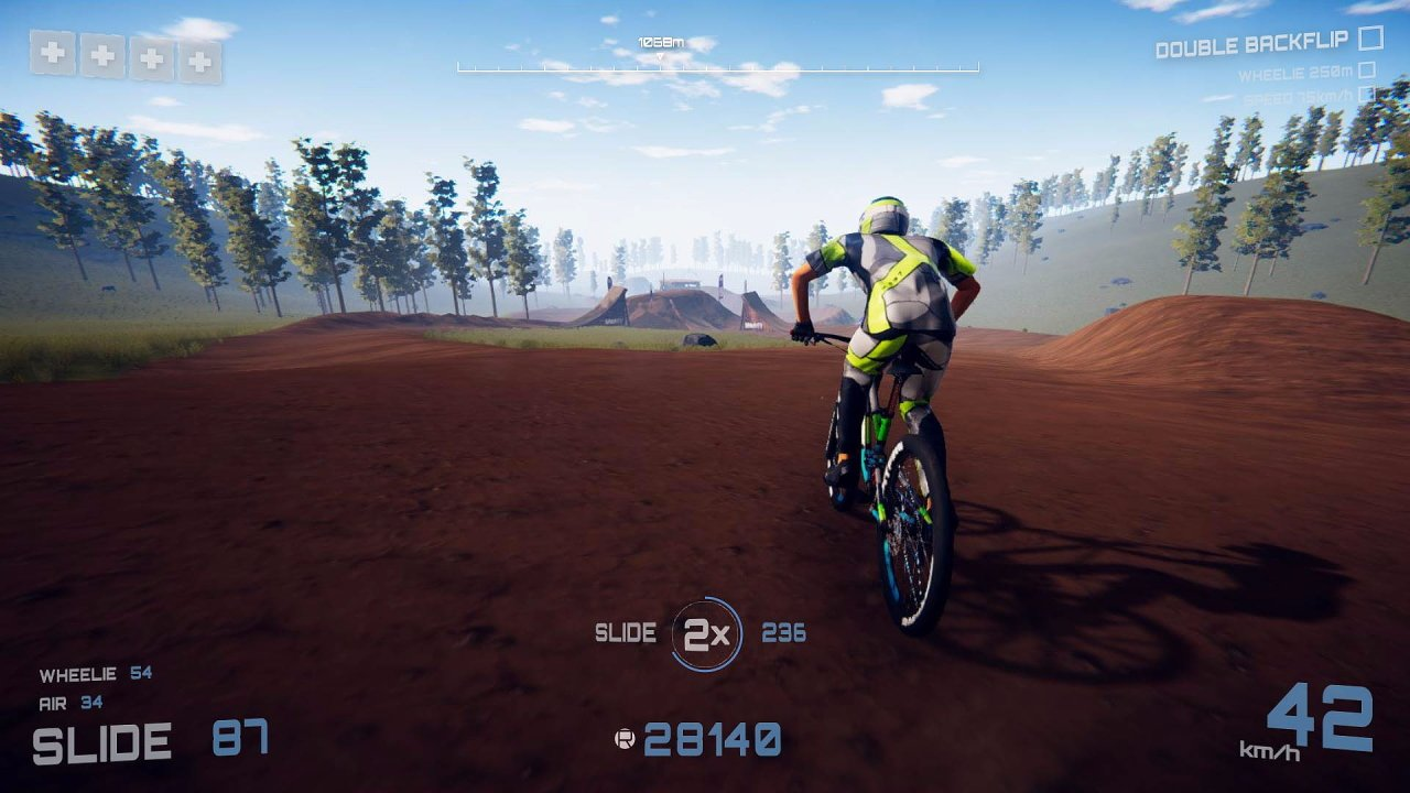 Video game olympics descenders