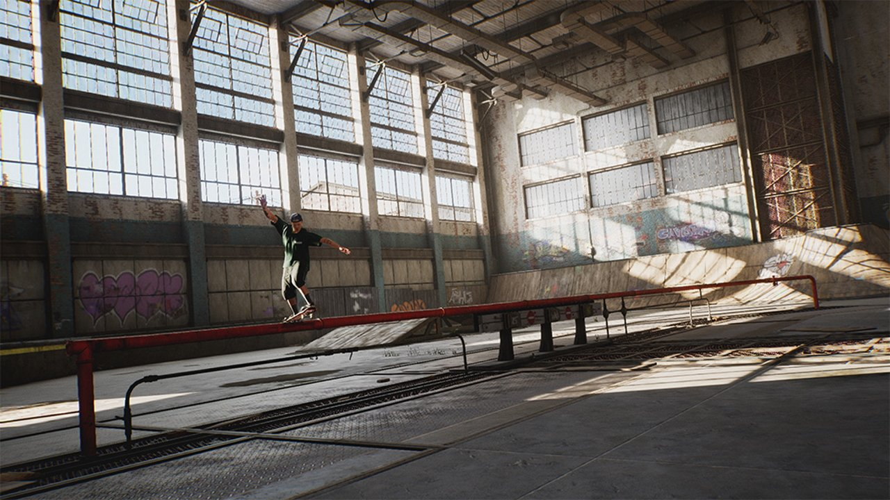 Video game olympics tony hawk skateboarding