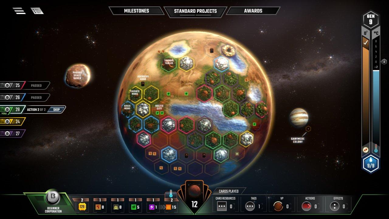 video games like the expanse terraforming mars