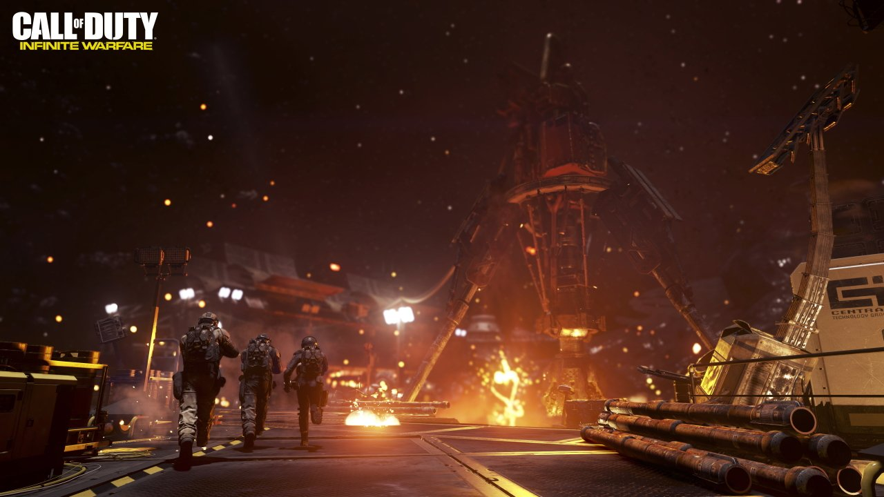 videogames like the expanse call of duty infinite warfare